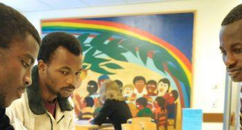 Kirchlicher Flüchtlingsdienst am Flughafen