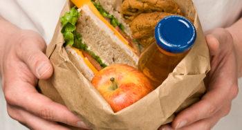 Lunchpakete für Obdachlose