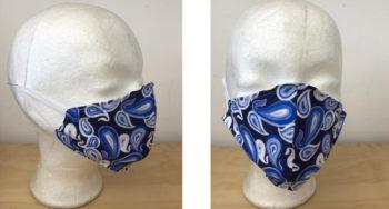 Mundbedeckungen aus der ModeKreativWerkstatt